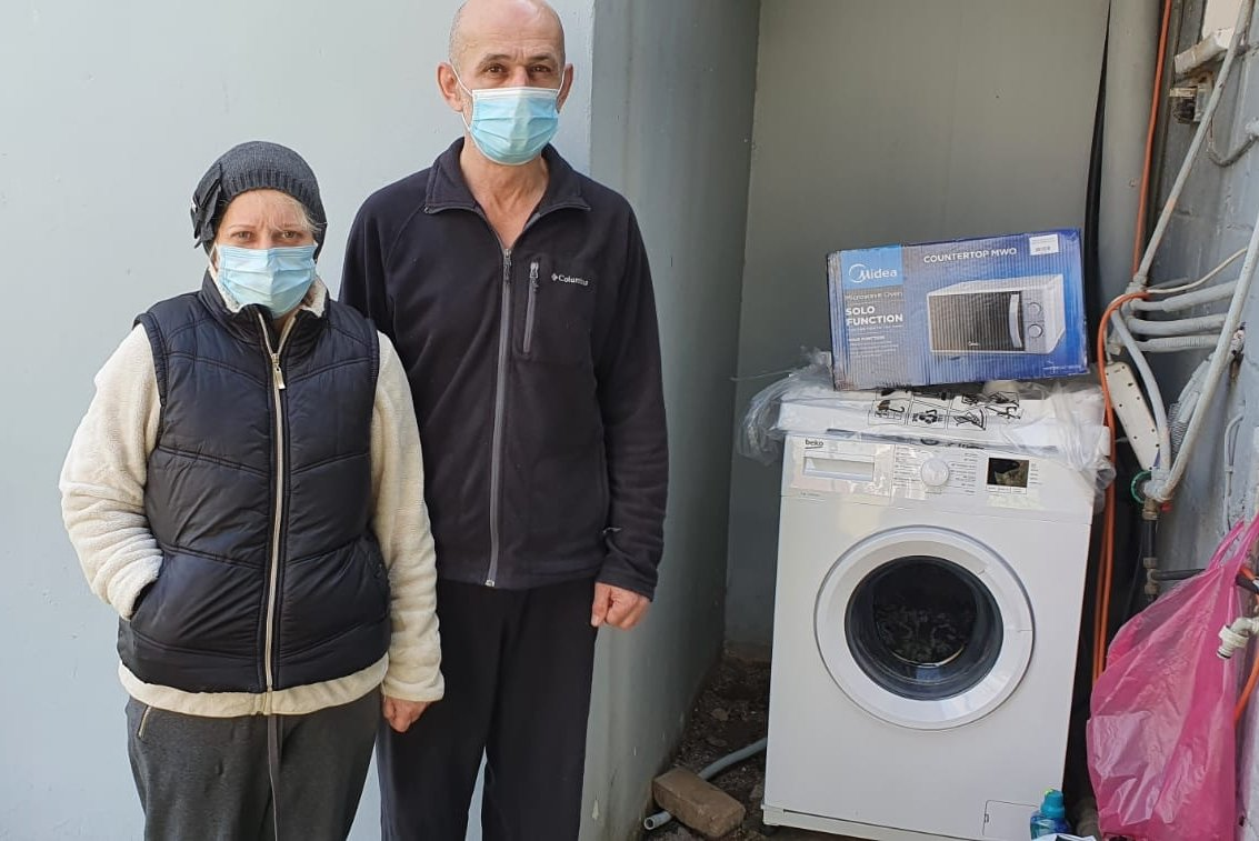 New Washing Machine For Long-suffering Immigrant Family