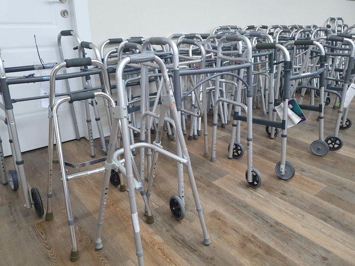 Helping The Elderly To Walk Again