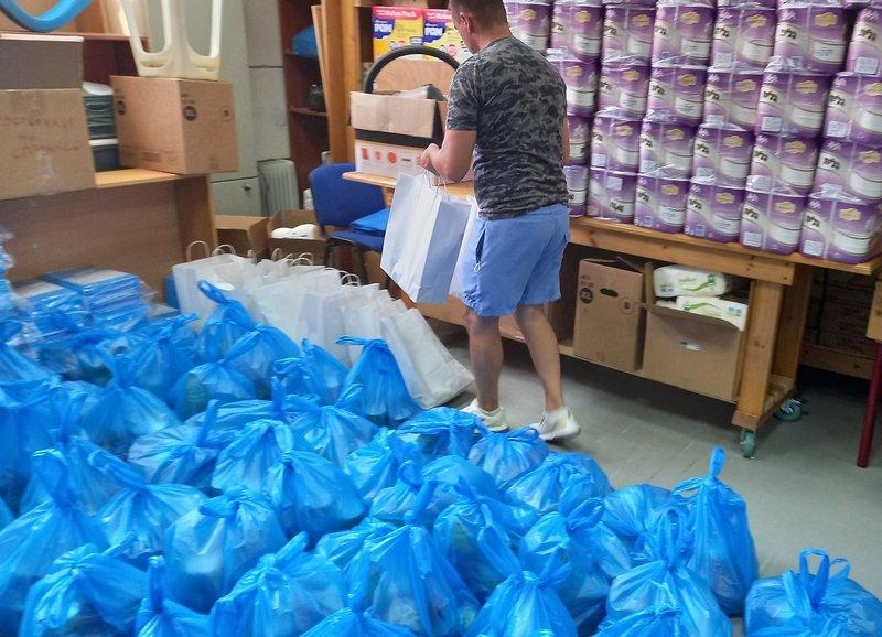 Special Rosh Hashana  Food Distribution